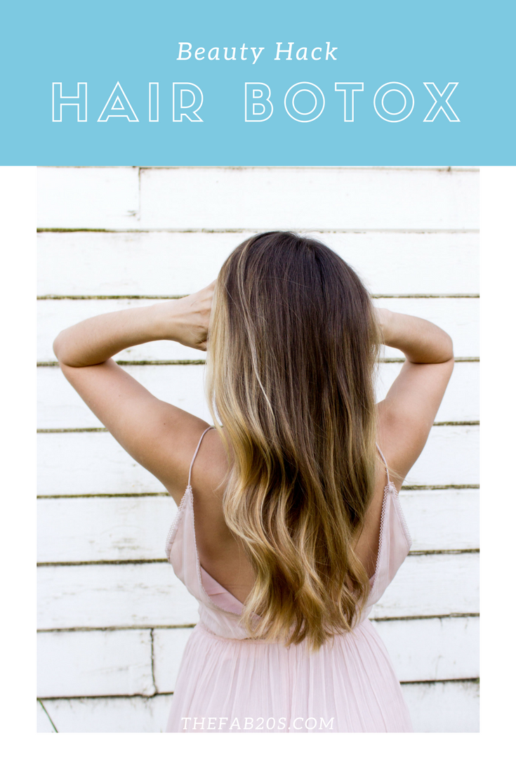 hair botox beauty hack review
