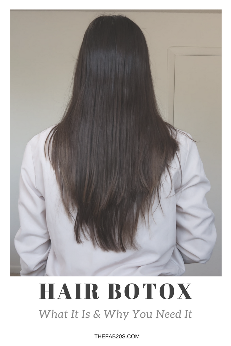 hair botox review why you need it