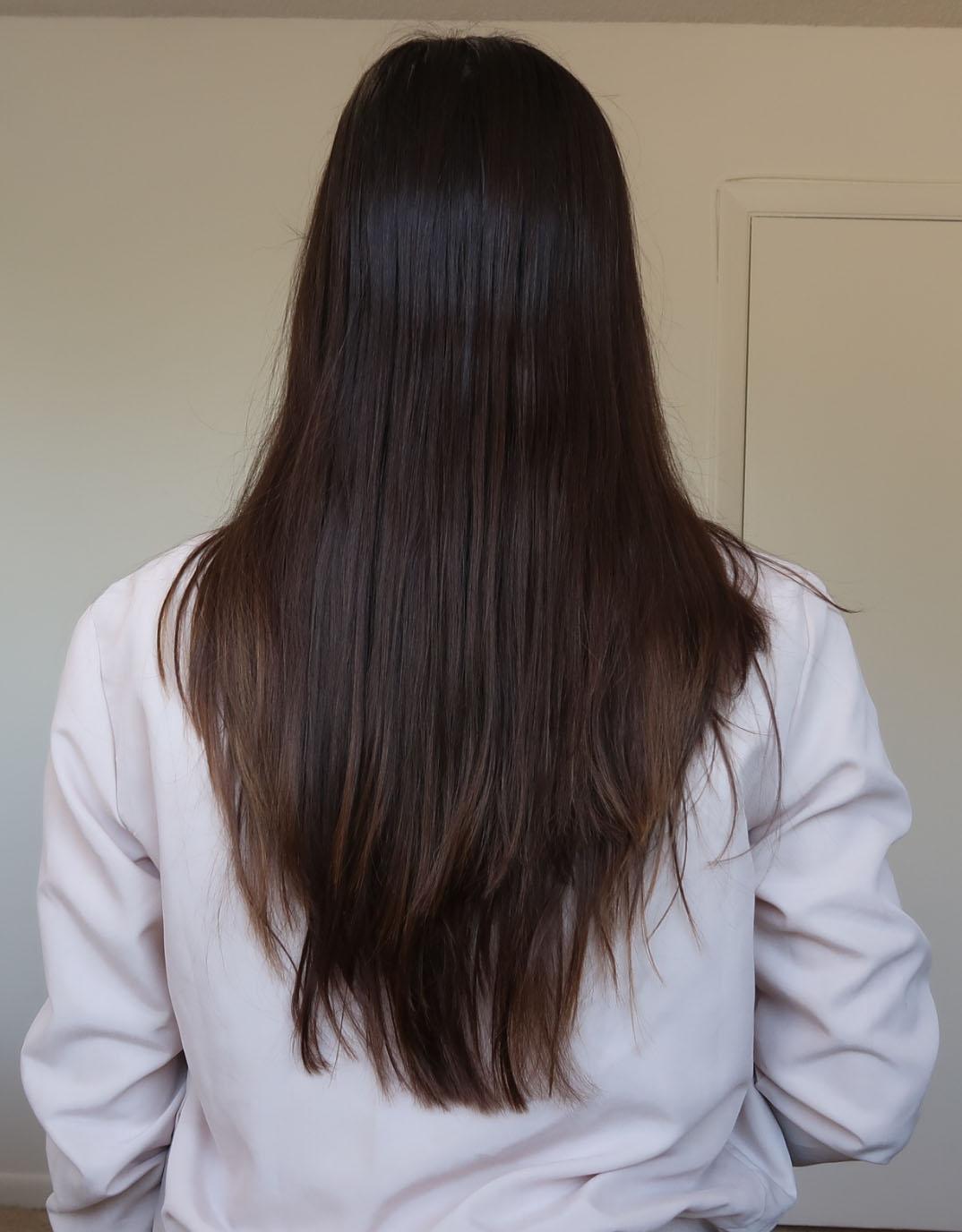 Hair botox after