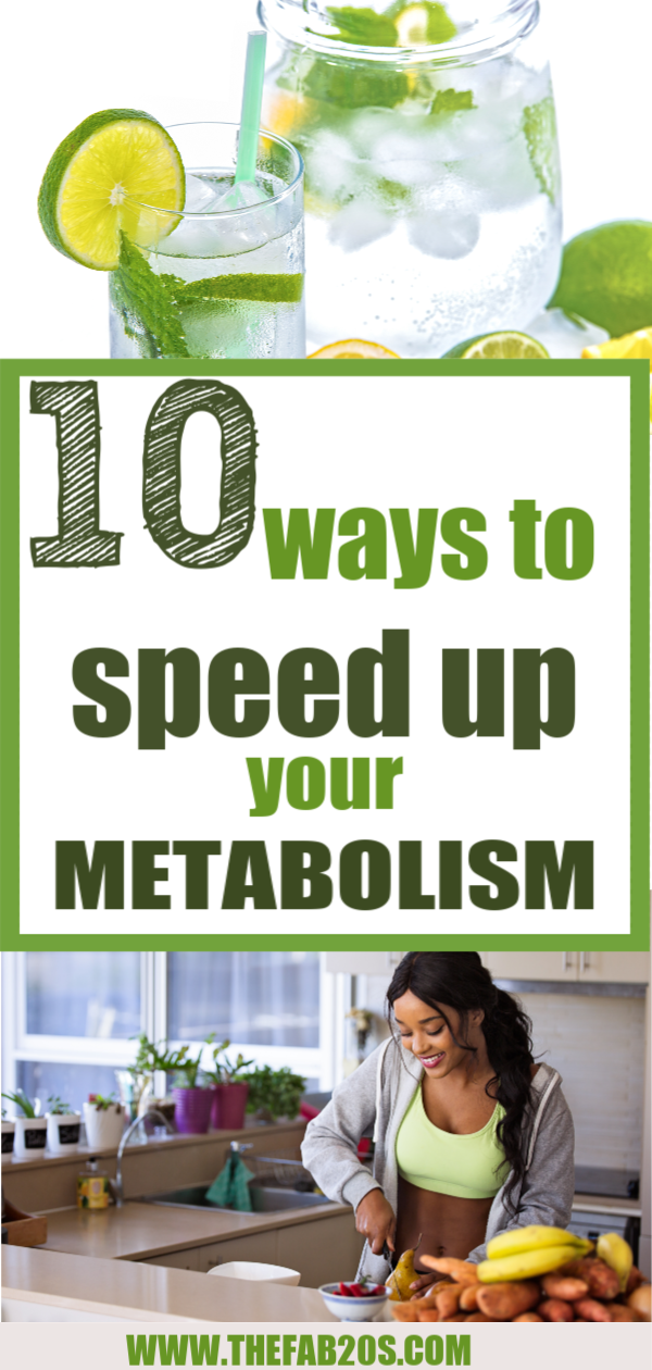 10 Ways To Speed Up Your Metabolism