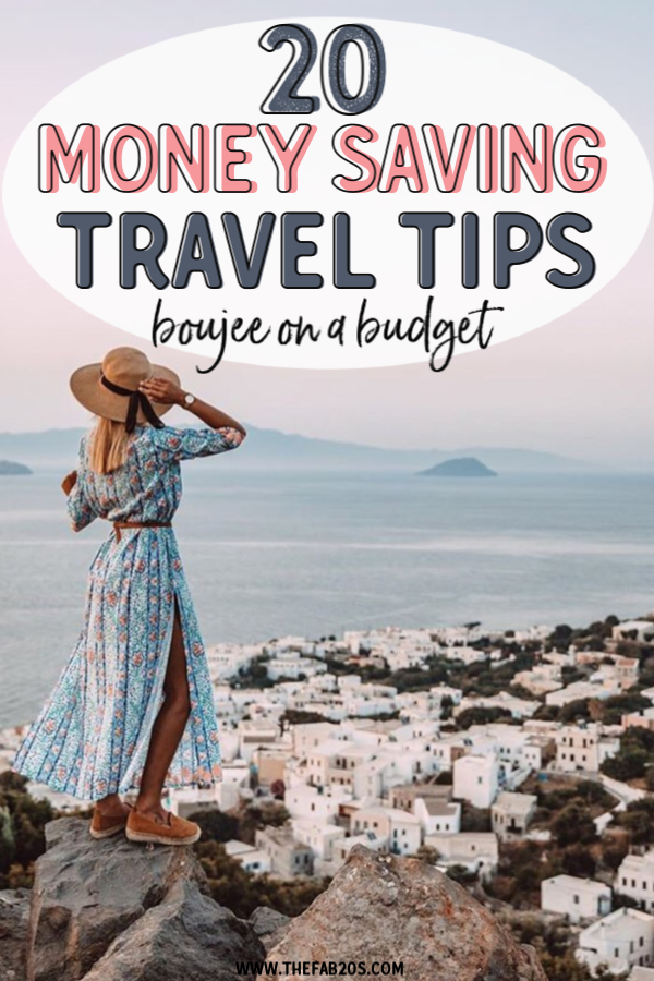 20 of the best travel saving tips. How to travel as a college student. How to travel when broke!  If you want to learn how to travel on a budget in your 20s, this is the post for you! I always get asked how to afford travel as a student and now you can learn how to travel frugally. These money saving travel hacks are great!  #savemoney #moneysavingtips #savemoneyontravel #travelforcheap #travel #traveltips