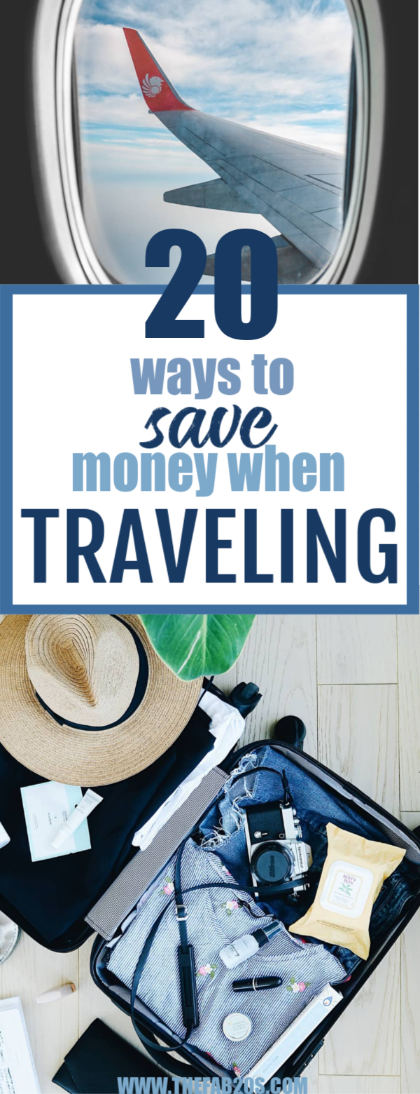 20 Ways To Save Money When Traveling. You can travel on any budget and any income. You just have to be willing to do some research, be patient, and get out of your comfort zone! #travel #TravelTips #Wanderlust