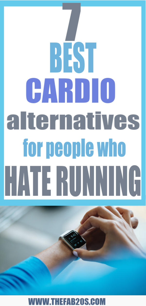 7 Best Cardio Alternatives For People Who Hate Running. You don't have to spend hours upon hours on the treadmill to get a good workout in. Here are 7 unique ways to get your heart racing if you hate running. #fitness #cardio #fitnessmotivation