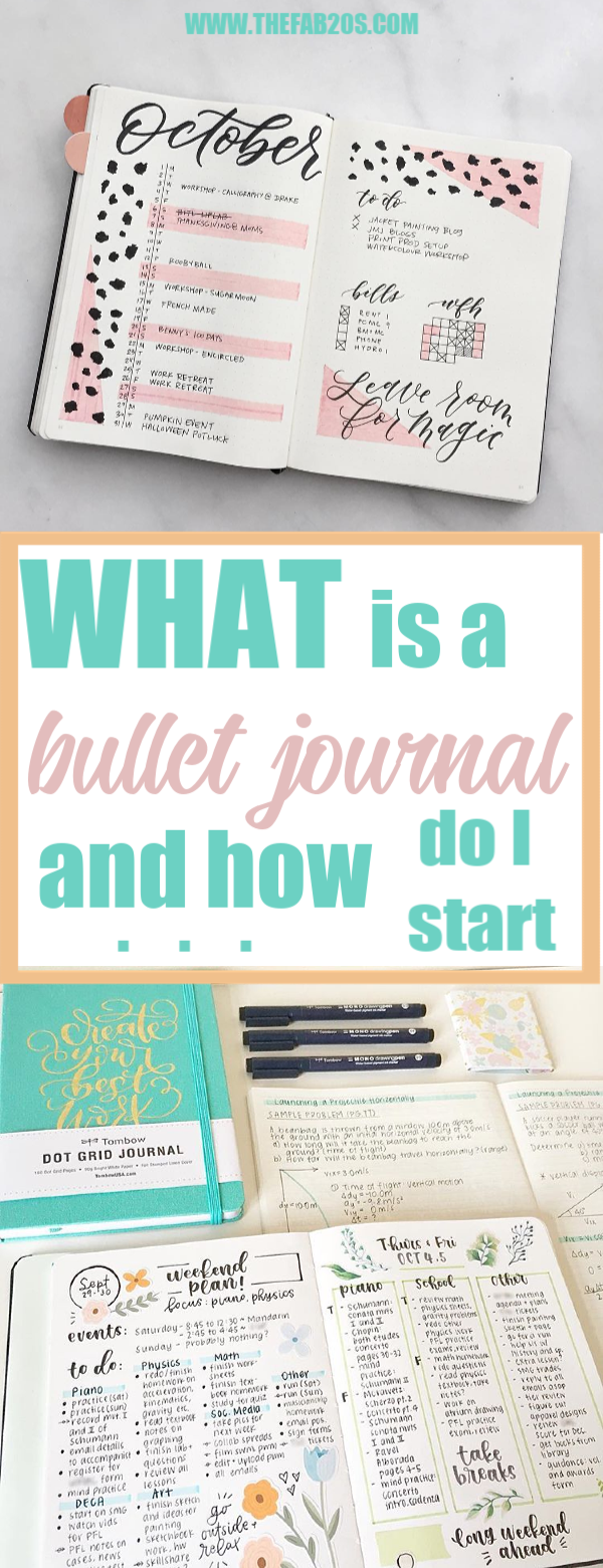 What is a bullet journal and how do i start