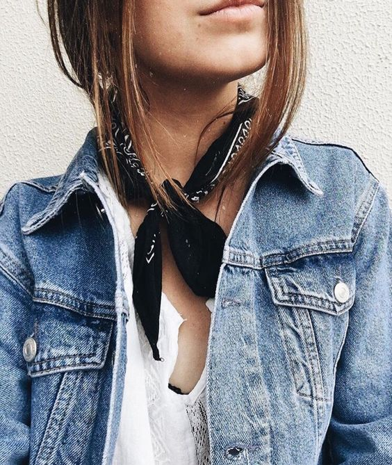 6 Ways To Wear A Bandana when you're feeling lazy and want to look put together. I've got you covered, with ideas for your neck and hair that will make you stand out #bandana #hairstyles