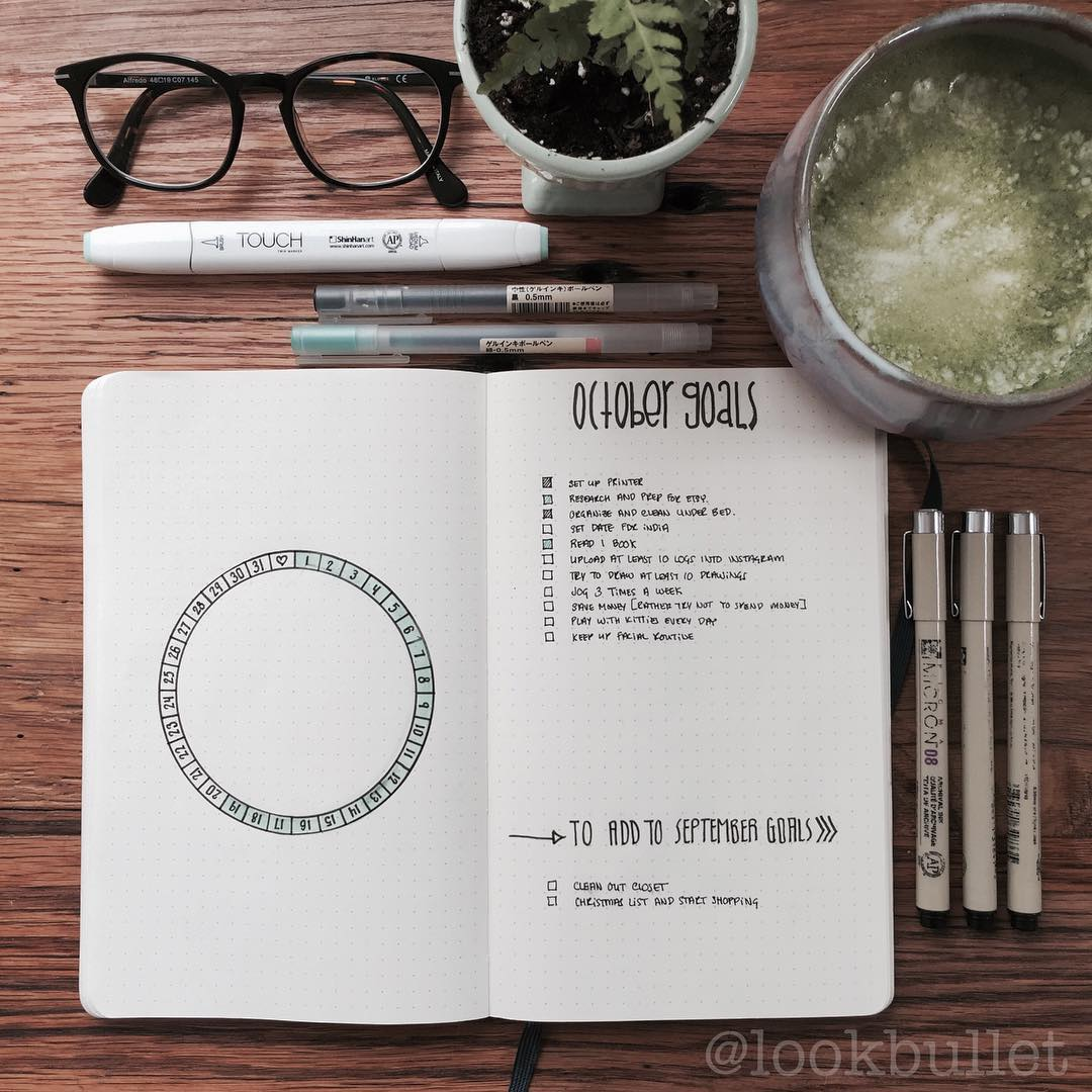 Goal Log in a Bullet Journal Inspiration. Get organized and conquer your day with 15 BULLET JOURNAL PAGES To Help You Finally Adults. Focus on your health, creating better habits, and living your best life with a bunch of ideas on how to better manage and organize your daily life with a Bujo #Bujo #BulletJournal #bulletjournalideas #bulletjournalinspiration