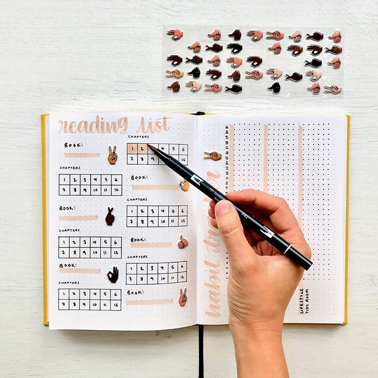 Study Tracker Bujo. Get organized and conquer your day with 15 BULLET JOURNAL PAGES To Help You Finally Adults. Focus on your health, creating better habits, and living your best life with a bunch of ideas on how to better manage and organize your daily life with a Bujo #Bujo #BulletJournal #bulletjournalideas #bulletjournalinspiration