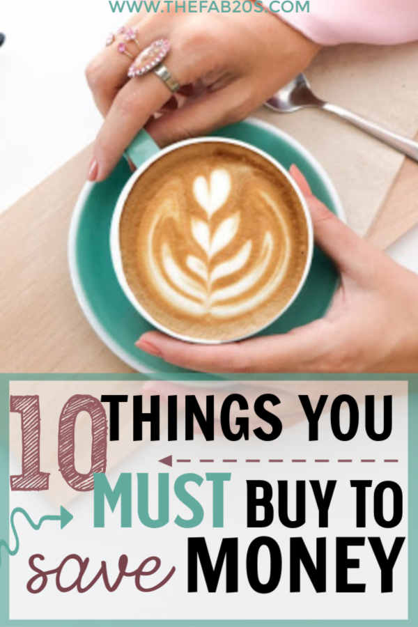10 Things You Must Buy To Save Money. Whether you are trying to save money or live frugally, all of the items have saved me lots and help get you out of debt. You can live well withing your means, these are some amazing money saving hacks I wish I knew when I was younger. #savemoney #livefrugally #moneysaving #moneysavinghacks #frugal