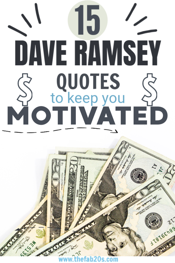 These Dave Ramsey quotes are really good! If you need some ideas on Dave Ramsey budget, then definitely read this! This is a great for get out of debt tips! #getoutofdebttips #daveramseytips #daveramseysnowball #daveramseybudget #daveramsey