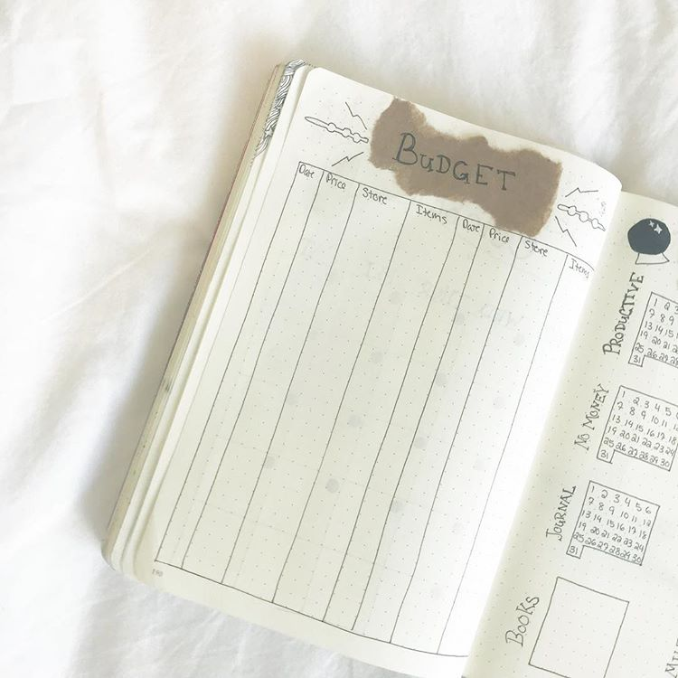 LOVE these!!! 10 Bullet Journal Ideas to Organize Your Money. Easy Ways to start using bullet journals for your money. #bulletjournal #bujo #bujospreads