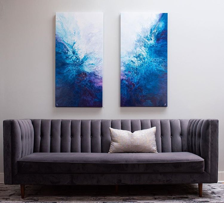 Make Your Own Art and 8 Ways To Update Your Home On A Budget. I was looking for unique and fun ways to spruce up my home, either with accents, plants, or wallpaper. these are some budget-friendly ways to make a room come to life. #homedecor #home #homeinspo