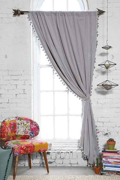 Add a boho curtain and 8 Other Ways To Update Your Home On A Budget. I was looking for unique and fun ways to spruce up my home, either with accents, plants, or wallpaper. these are some budget-friendly ways to make a room come to life. #homedecor #home #homeinspo