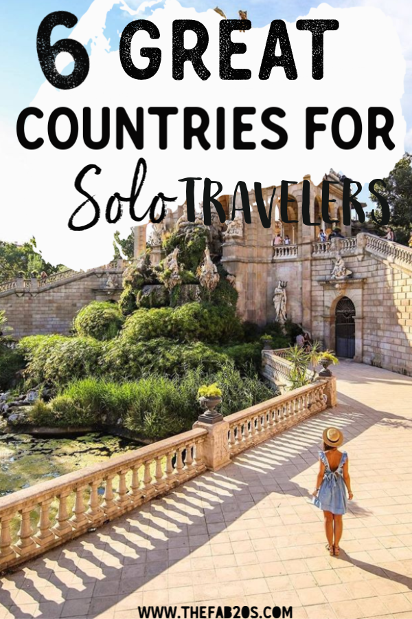 If you're not a seasoned traveler and are considering setting off on your own for the first time, you're probably wondering where to go.  Here are five of the safest countries in the world for women traveling alone. #solotraveler #travels