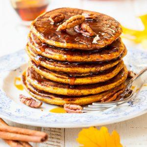Paleo Pumpkin Pancakes Glute Free and Dairy Free