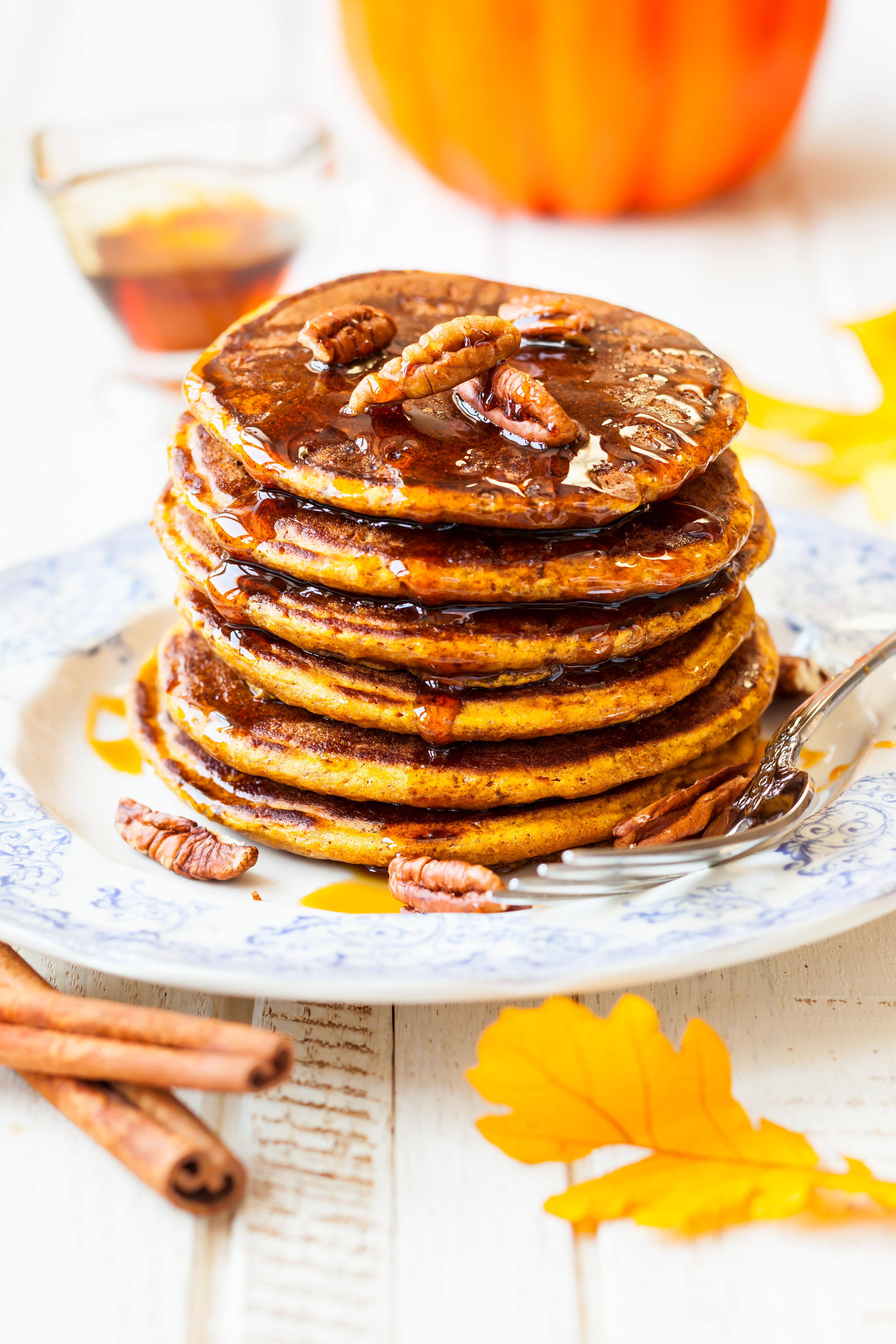 Paleo Pumpkin Spice Pancakes I Gluten + Dairy Free