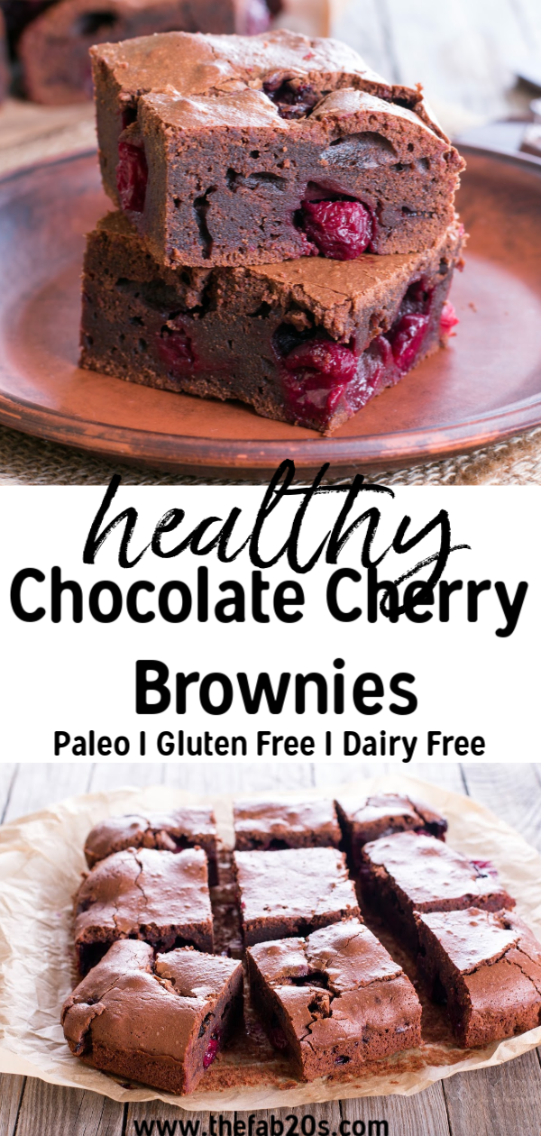 The Perfect Gluten Free & Paleo Brownies -- Fudgy, rich and delicious all without gluten, grains, or dairy! #paleo #brownies