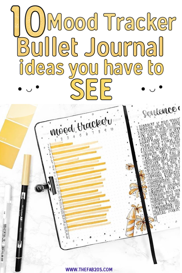 10 Unique Bullet Journal Mood Tracker Ideas to Keep You Mentally Equipped #bulletjournal #bujo #tracker