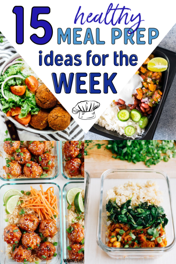 These recipes are the perfect meal prep for the week for beginners! These meal prep ideas are perfect for losing weight and getting healthy. Easy meal ideas for Breakfast, Lunch, and Dinner for the whole week.  Clean eating is easy when you have a plan and are organized. #mealprep #recipes #healthy #healthyrecipes