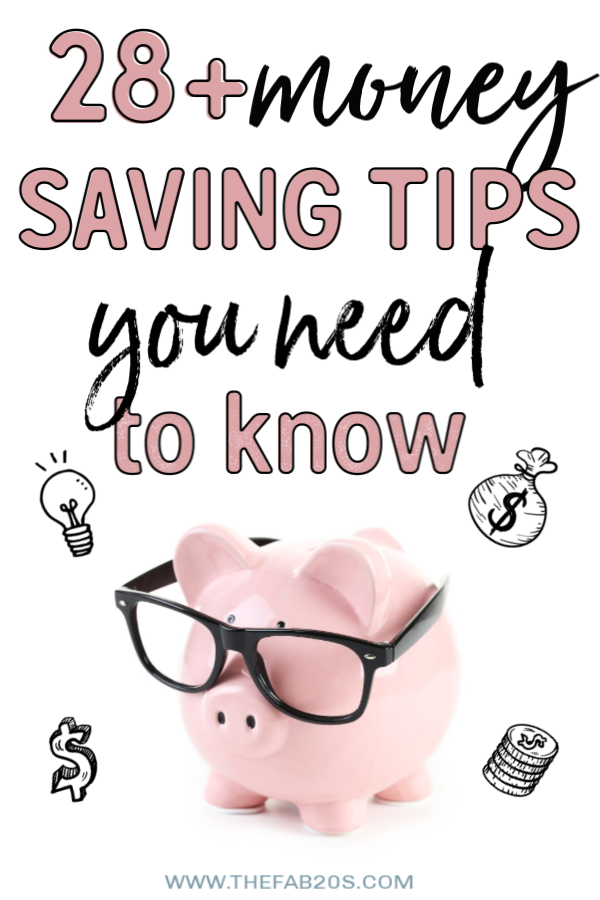 These Money Saving Tips are awesome for Moms and College students alike!! Whether you want to better manage your money to buy a house or pay down debt, these easy and actionable pieces of advice will help you #money #debtfree #savemoney #frugal