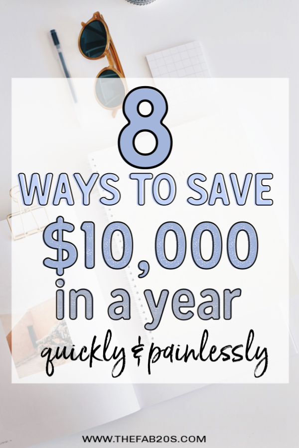 Saving $10,000 in a year is not as hard as you think. Follow this simple strategy to increase your savings this year #howtosave10000inayear #savemoney #moneysavingtips #moneymanagement