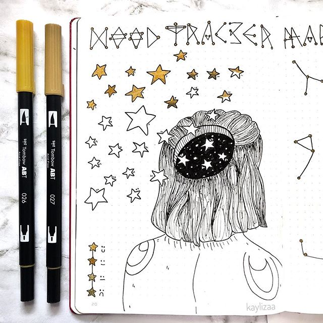 10 Mood Tracker Bullet Journal Ideas To Put You In A Good Mood