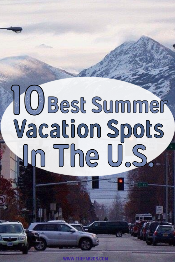 10 best vacation spots in the us. Perfect for family travel or even couples. Whether you want to head to the beach or go hiking, there's something for everyone here. inations, city trips, national parks, only the best places for all tastes! #USA #Adventure #Nationalpark #Summer