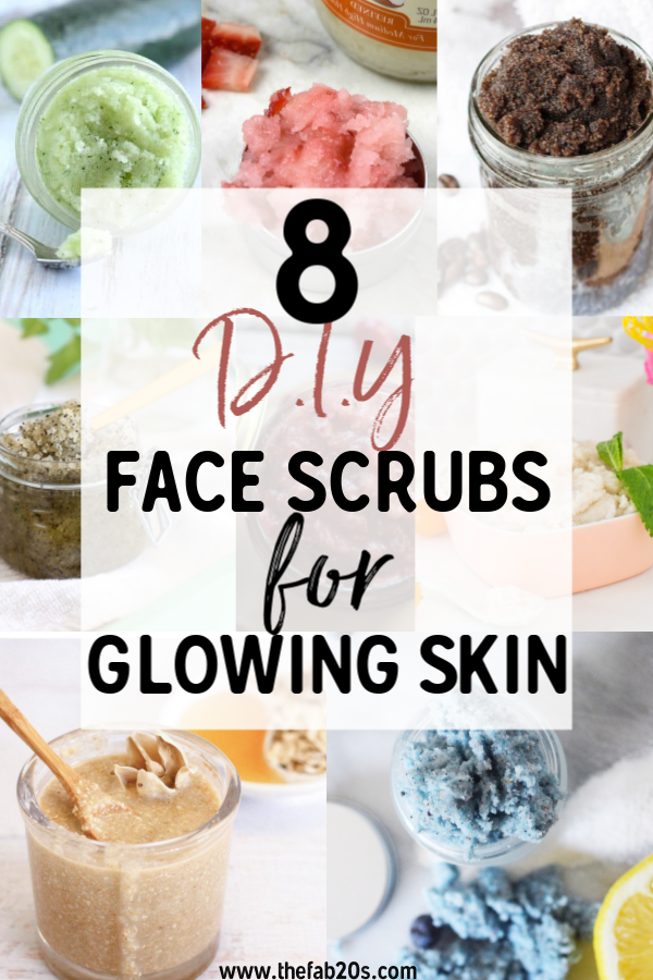 The Best DIY Face Scrub That You Can Make At Home In Minutes! These DIY Face Scrubs for Acne Scars work wonders! Homemade Sugar Scrub For Blackheads. Diyhydrating face mask for oily skin. Diy face mask for dehydrated skin. Get Healthy Glowing skin! Coconut, Coffee, Cucumber, Strawberries! So many great ingredients full of antioxidants to fight acne and aging #DIY #Beauty