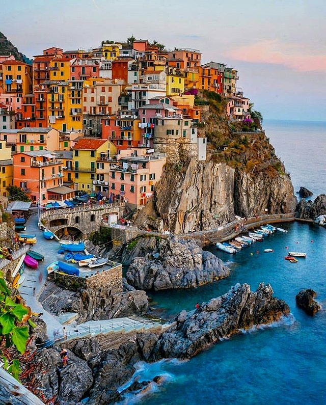 Manarola and 10 More Beautiful villages in Italy to visit. Explore these small Italian towns off the beaten path from the Amalfi Coast to Cinque Terre . these beautiful destinations belong on your Italy itinerary #Italy #Europe #destination
