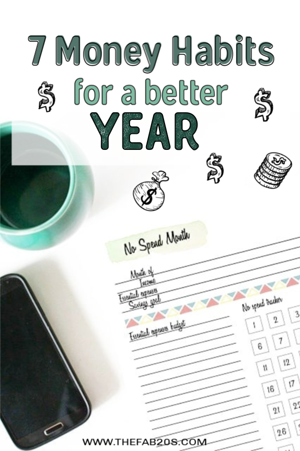 Money habits for a better year!Learn how to break shopping habit and reasons to wait to buy something. Some  good habits for budgeting and personal finance you'll want to consider. Some financial resolutions you can make year long! #money #personalfinance #budget #budgeting