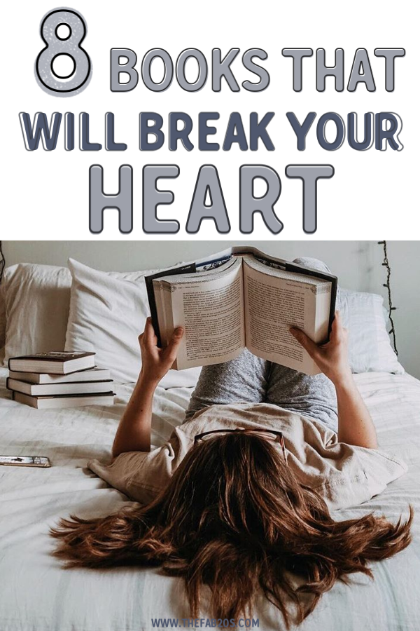 8 Books for when you need a good cry. Heart breaking, tear jerking magical books to get all the feels. Romance books that make you cry as well as adventure and coming of age books. Young adult books and YA tear jerkers. Grab these amazing good reads today! #books #bookstoread