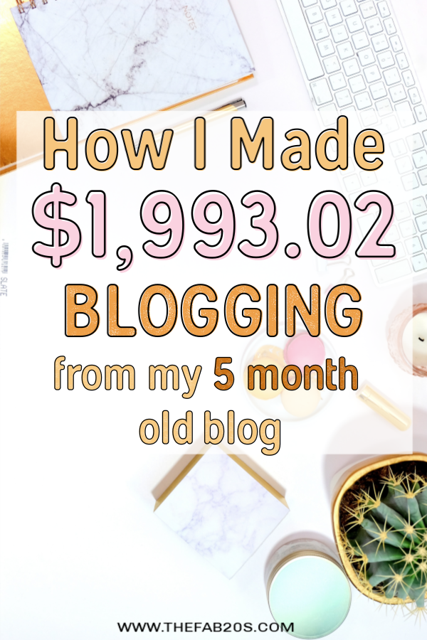 March 2019 Income + Traffic Report – How I Made $1,993.02 In My 5th Month Blogging