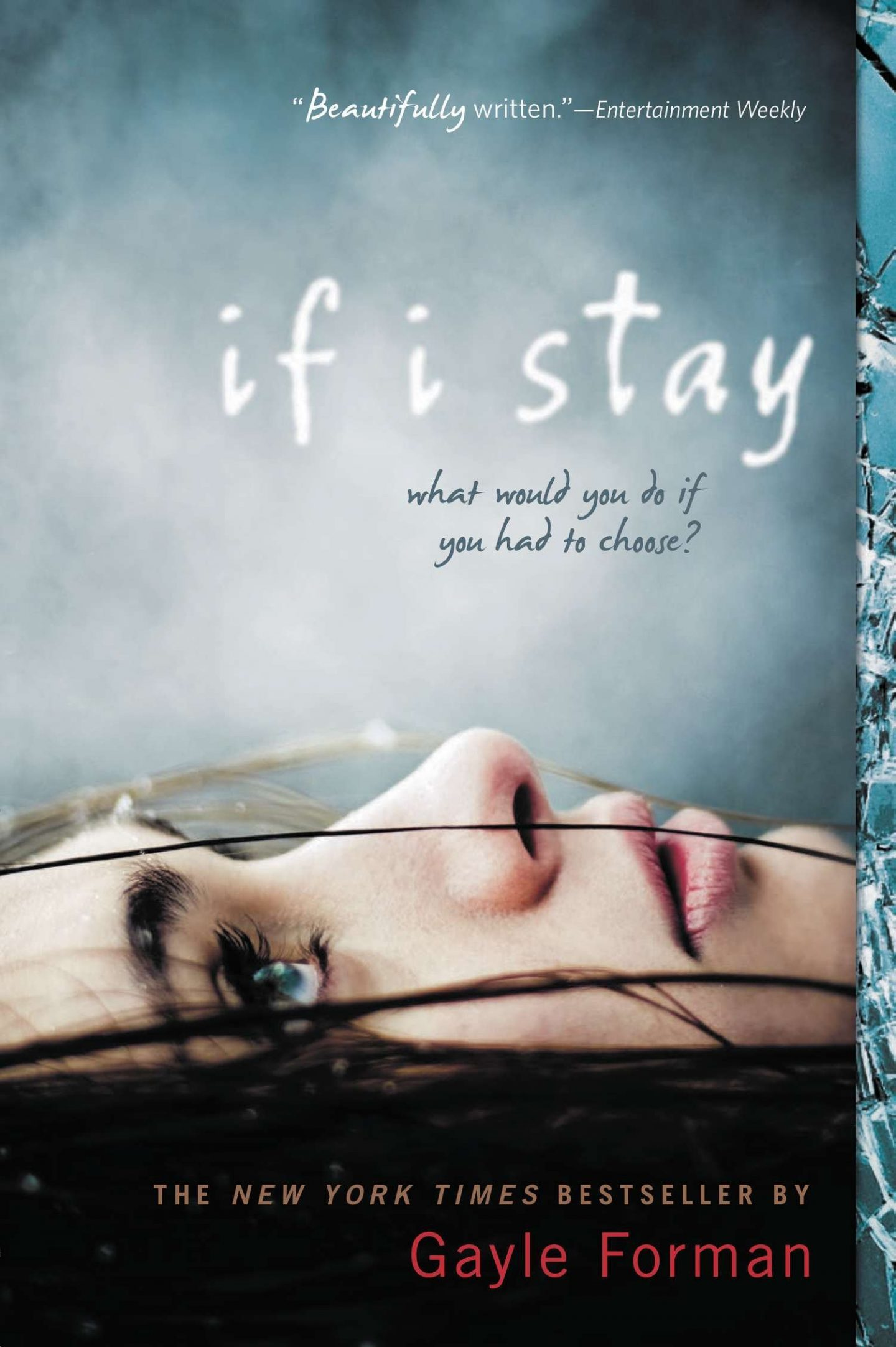 If I stay by Gayl Forman and 8 more Books for when you need a good cry. Heart breaking, tear jerking magical books to get all the feels. Romance books that make you cry as well as adventure and coming of age books. Young adult books and YA tear jerkers. Grab these amazing good reads today! #books #bookstoread
