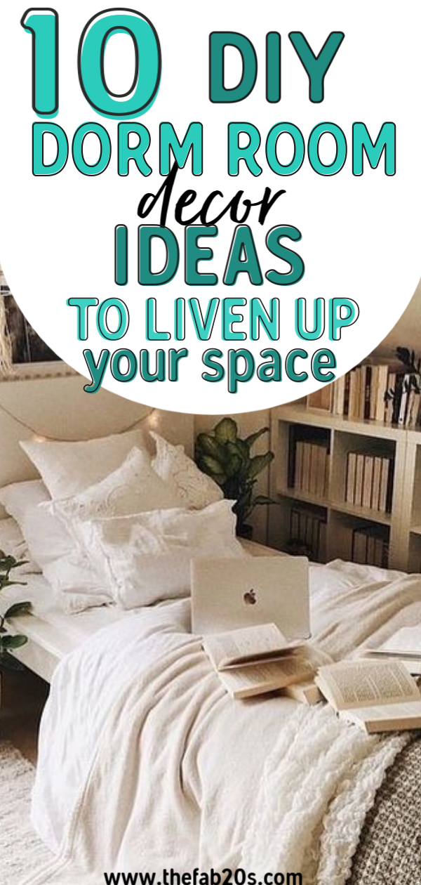 10 DIY Dorm Room Decor Ideas To brighten Up Your Space! Easy DIY dorm room hacks perfect for college students. Efficient Dorm Room Organization Ideas you can try! Obsessed with these dorm room storage ideas! I want to add these all in my dorm room. #dorm #dormroom