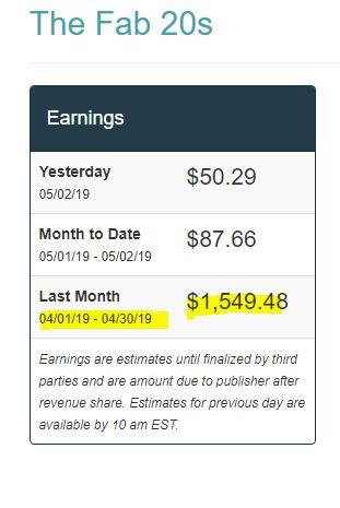 How do bloggers make money?? Check out my April Income and Traffic Reports to see. There are a lot of ways to monetize a blog from ads to affiliate income.  Blogging income report | Make money on blog.  If you are a new blogger, or a struggling blogger, you NEED to read this for the best blogging tips! The BEST work from home job and side hustles! #bloggingtips #blogincome #makemoneyonline #workfromhome