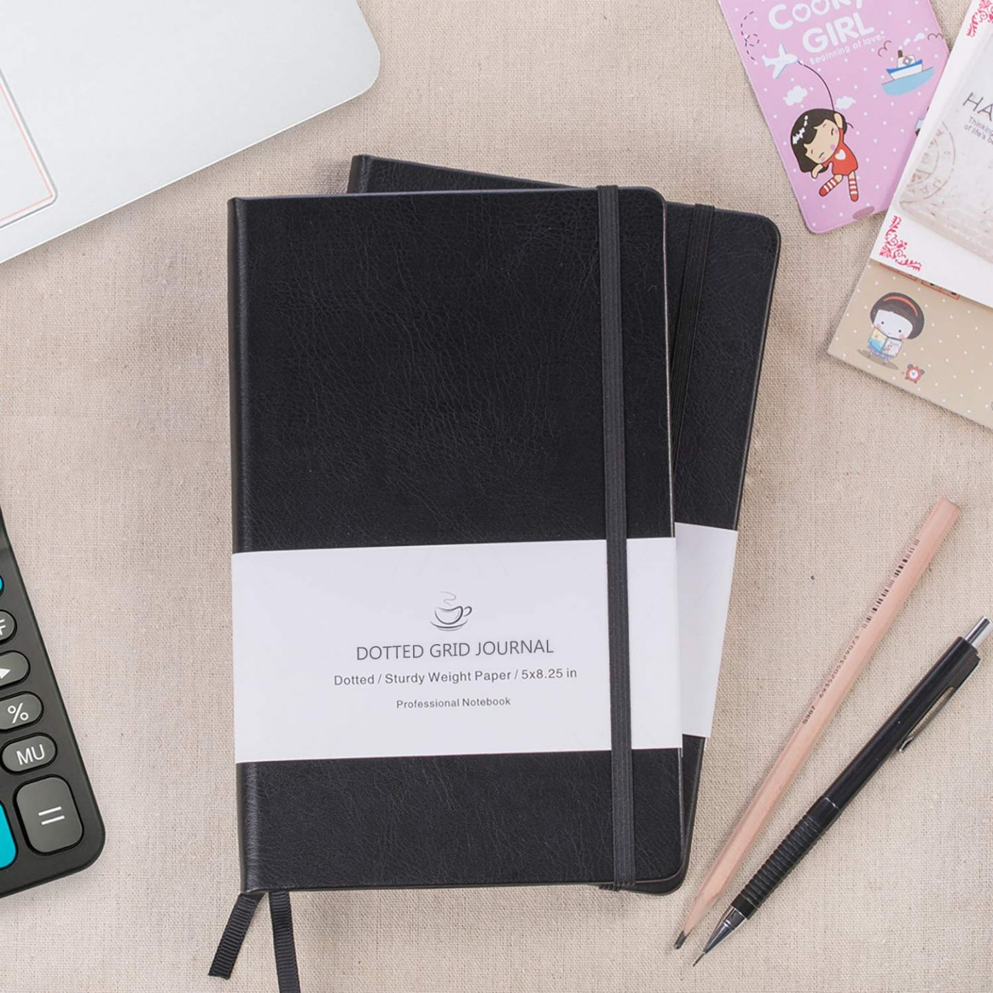 Poluma Dotted grid Journal is a great budget friendly alternative to the Leuchtturm1917 for bullet journals