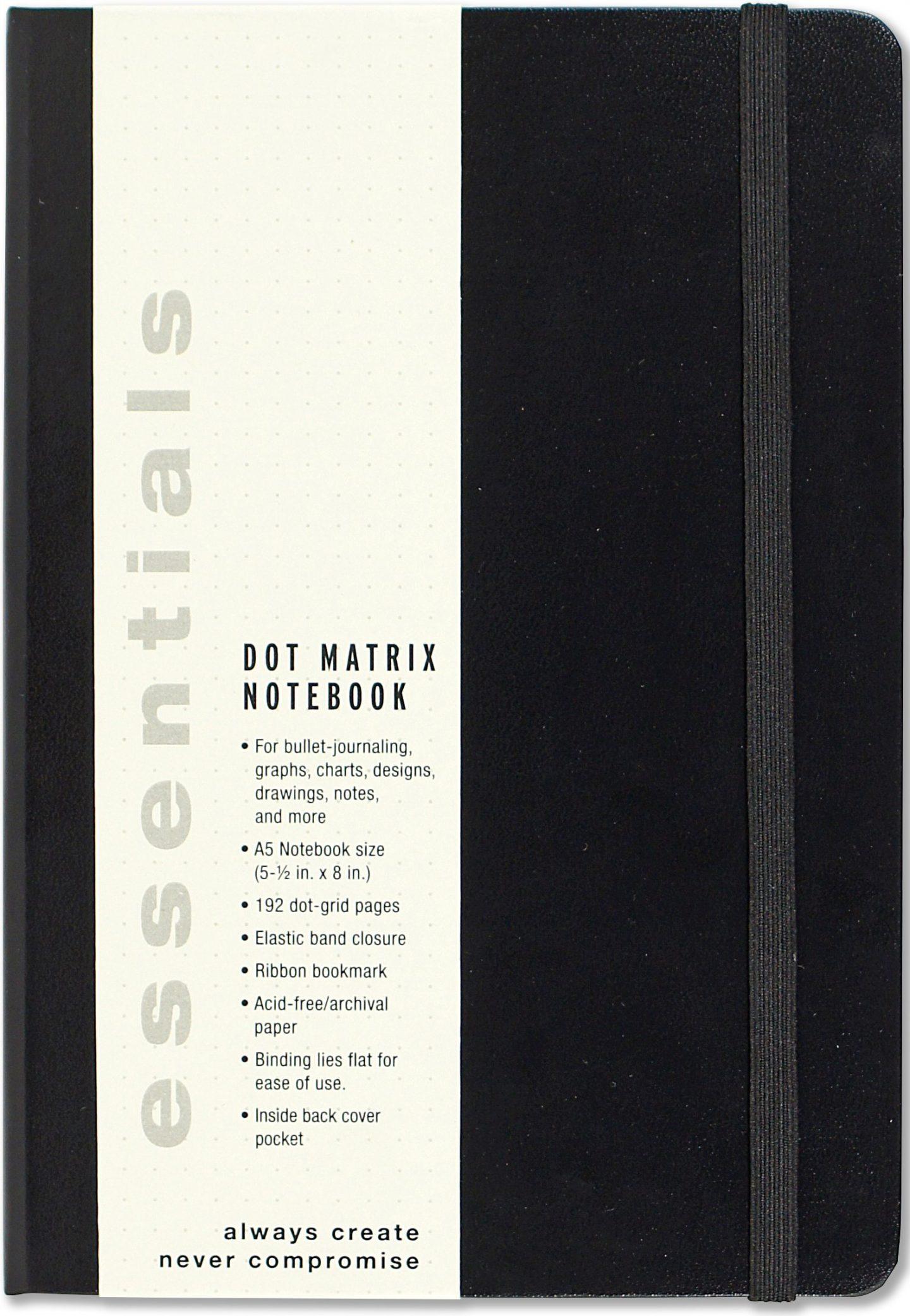 Essentials Dot Matrix Journal is a great budget friendly alternative to the Leuchtturm1917 for bullet journals