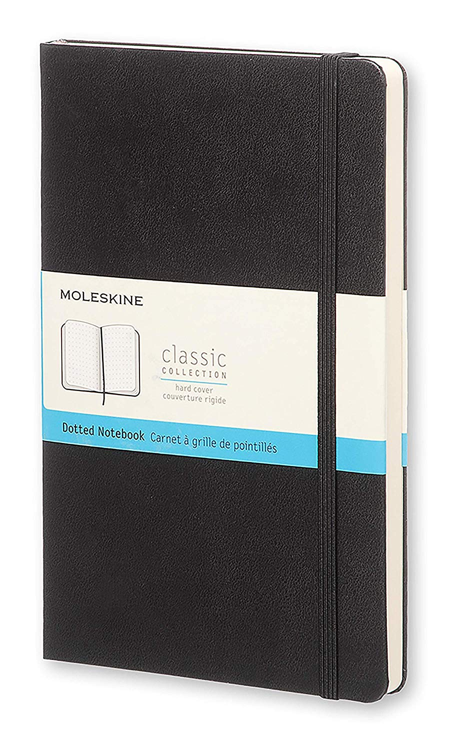 Moleskin Dotted Hard Cover Notebook is a great budget friendly alternative to the Leuchtturm1917 for bullet journals