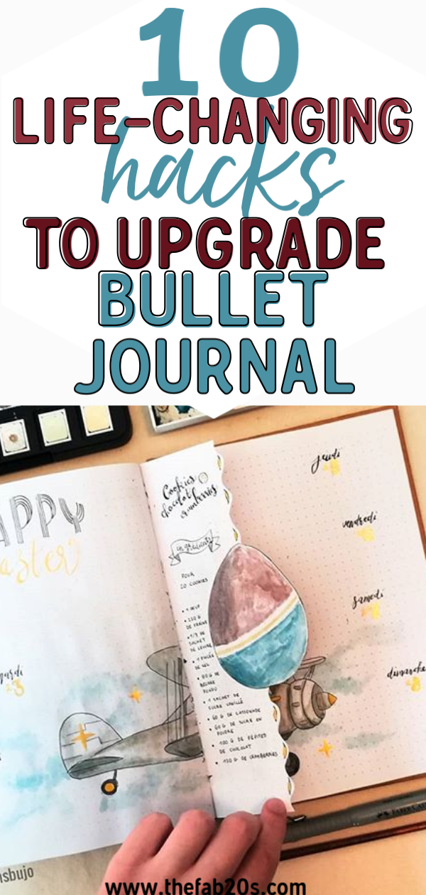 These bullet journal ideas are THE BEST! I'm so happy I found these GREAT bullet journal tips! Now I have some great bullet journal hacks that I can use! #bulletjournal #bulletjournalideas #bulletjournaltips #bulletjournalhacks #organization #organization