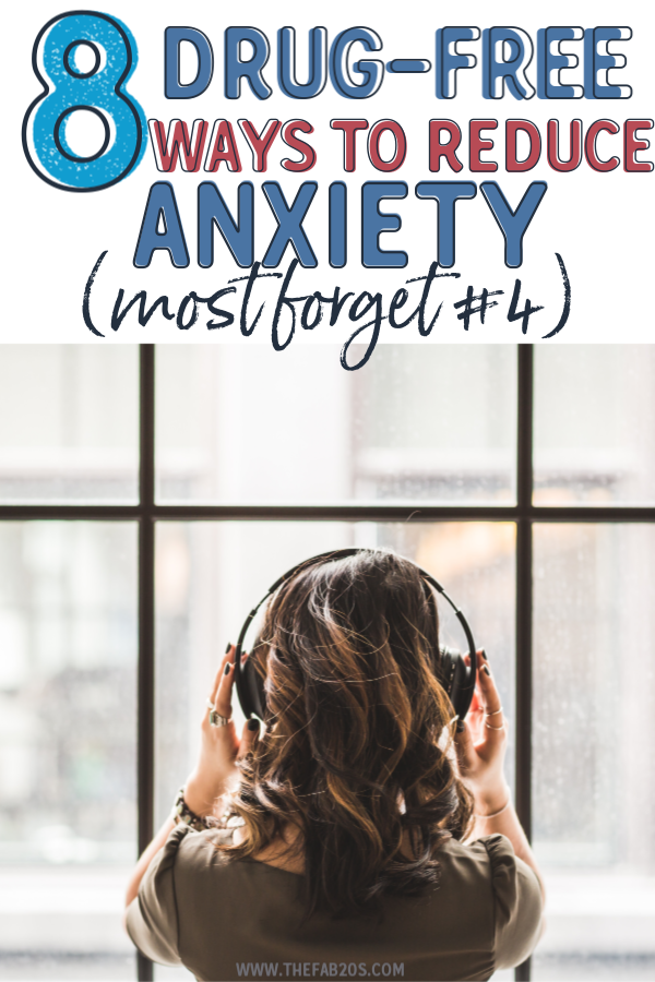 8 Drug Free Ways To Reduce Anxiety. If you're looking for natural remedies for stress and tension for your social anxiety and depression, these 8 tips are it! How to get rid of anxiety without medication. self care anxiety #selfcare #anxiety #mentalhealth