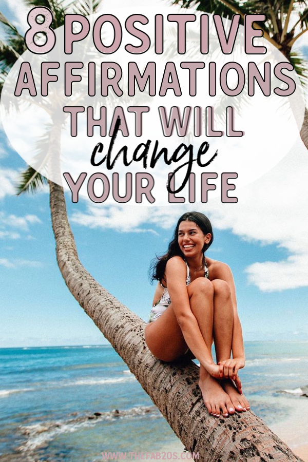8 Positive Affirmations That Will Transform Your Life. Affirmations are the best way to start your day with positivity. They can give you the boost you need for the whole day. These 8 powerful affirmations are my favorites which I swear by. You must try these! empowering affirmations #empowering #success #affirmations #positivity #positive #positivevibes #quotes #goodvibes #learn #grow #list