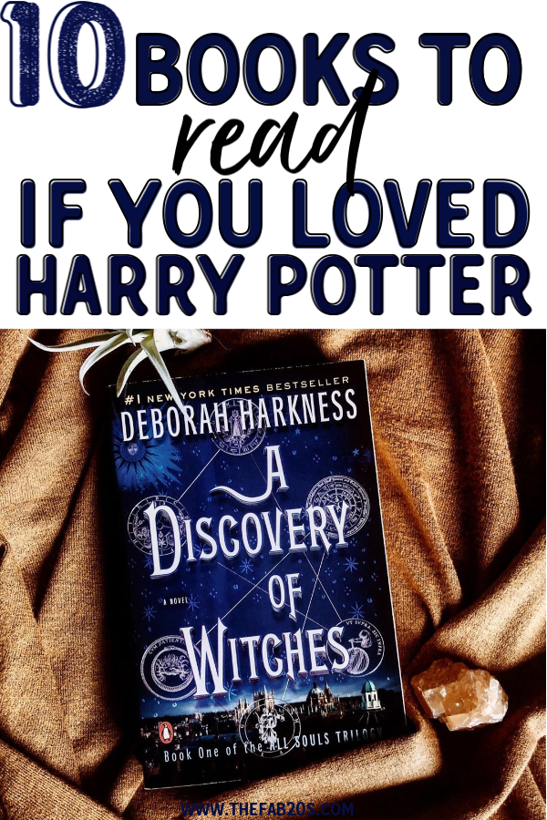 10 books as engaging as harry potter that you won't be able to put down! These books about magic and fantasy should be on your TBR stack as they are captivating and engaging. Absolute MUST READS! #books #bookstoread #reading