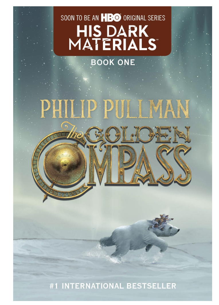 The Golden Compass by Philip Pullman. 10 books as engaging as harry potter that you won't be able to put down! These books about magic and fantasy should be on your TBR stack as they are captivating and engaging. Absolute MUST READS! #books #bookstoread #reading