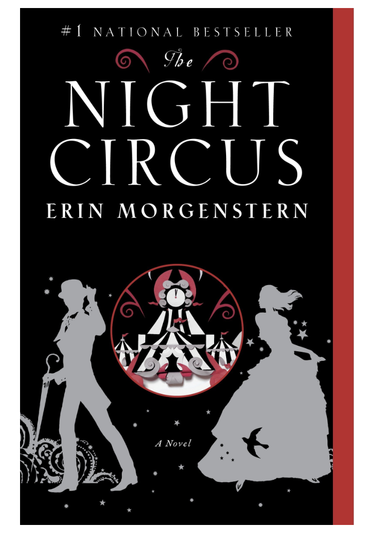 The Night Circus by Erin Morgenstern. 10 books as engaging as harry potter that you won't be able to put down! These books about magic and fantasy should be on your TBR stack as they are captivating and engaging. Absolute MUST READS! #books #bookstoread #reading