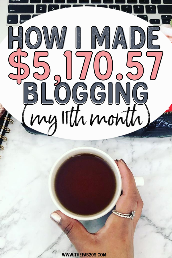 My 10th Month Income Report is here! How I make money online WITHOUT an email list! Showing You how you CAN make money with a blog! From ads, to affiliate marketing, get a sneak peak at exactly what I do #blog #incomereport #trafficreport