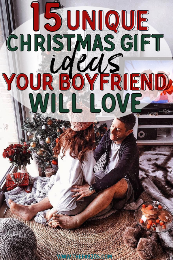Best Christmas Gifts For Boyfriend - If you don't know what to get that special man in your life this Holiday Season, this list of the 15 BEST most unique gifts will help you! Whatever your budget is, whether under $20 or $100, there's something here. Find the perfect Gift For Him #christmasgifts #giftsforhim #boyfriendgiftideas