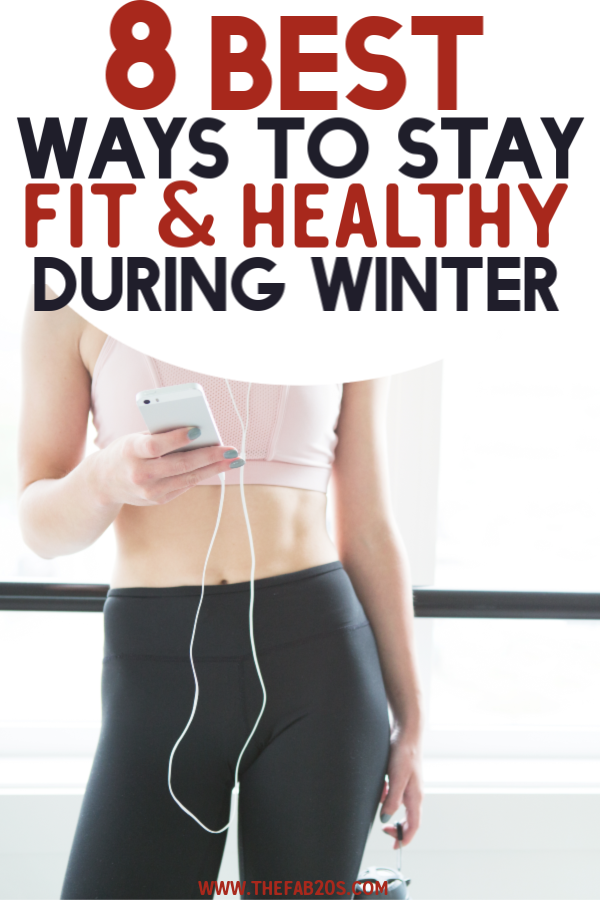 If you are struggling to stay fit and healthy during the cold winter months, these are the best tips and tricks to make sure you don't lose motivation and stick to your fitness routine! It's possible to reach . your fitness goals even during the holidays@ #fitness #getfit #stayfit