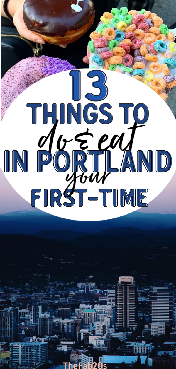Portland Oregon is such a UNIQUE city unlike any other in the US. If you are visiting PDX for the first time, I have there PERFECT itinerary for you whether you want to see museum, go on a hike, or eat and drink your way through donuts and breweries! There is something in this town for everyone! #Portland #TravelPortland #PortlandItinerary