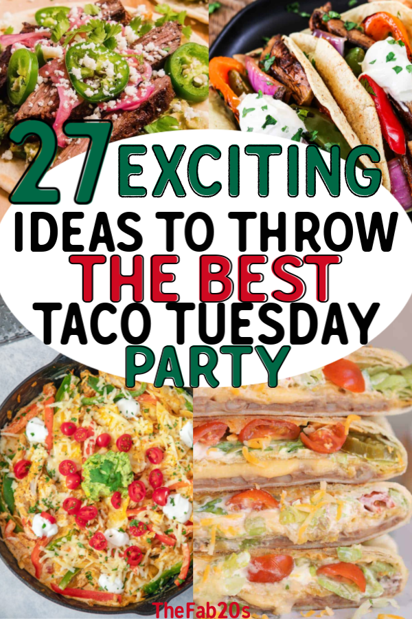 Are you a Taco Tuesday lover?! Or just absolutely love Mexican food?! From margaritas, quesadillas, and enchiladas get the absolute best recipes for a Mexican Fiesta everyone will love! Or perhaps a unique spin on date night with these delicious and unique dishes #tacotuesday #food #mexicanfood