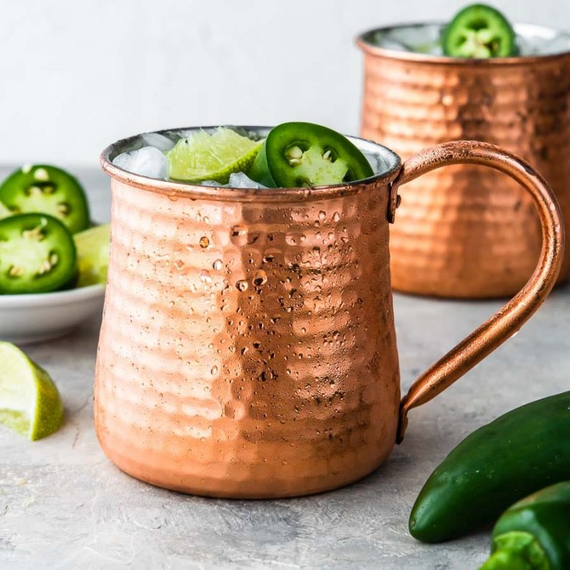 Tequila Moscow Mule Recipe for Taco Tuesday
