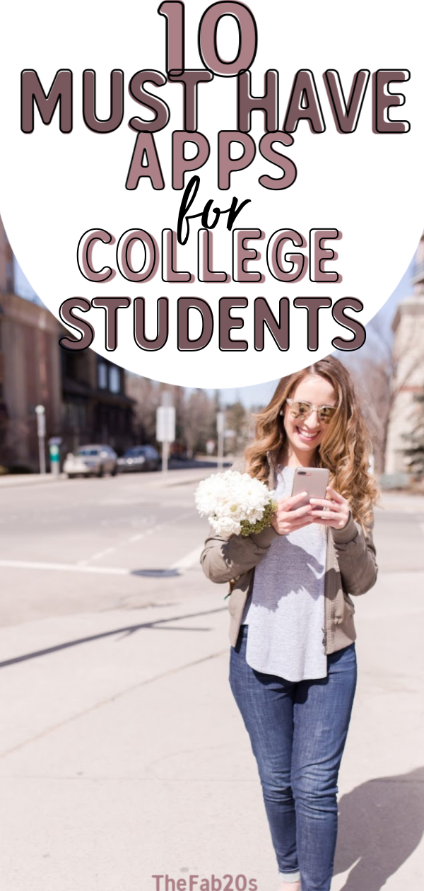 Really great advice for incoming freshman. These are the best apps to have on your phone for surviving school life. I have used these college apps iphone throughout my entire schooling#college#collegehacks #collegestudent